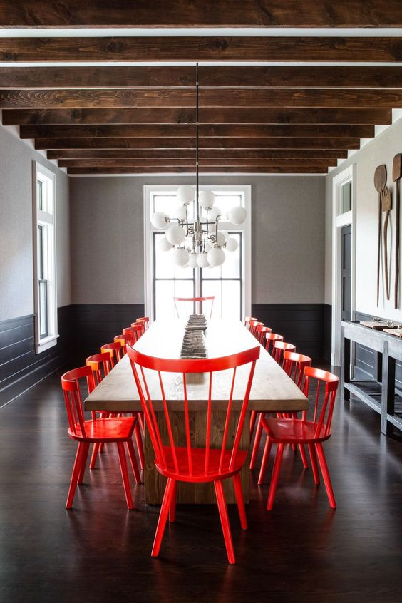 Cool New York Farmhouse Dining Room: Get The Look