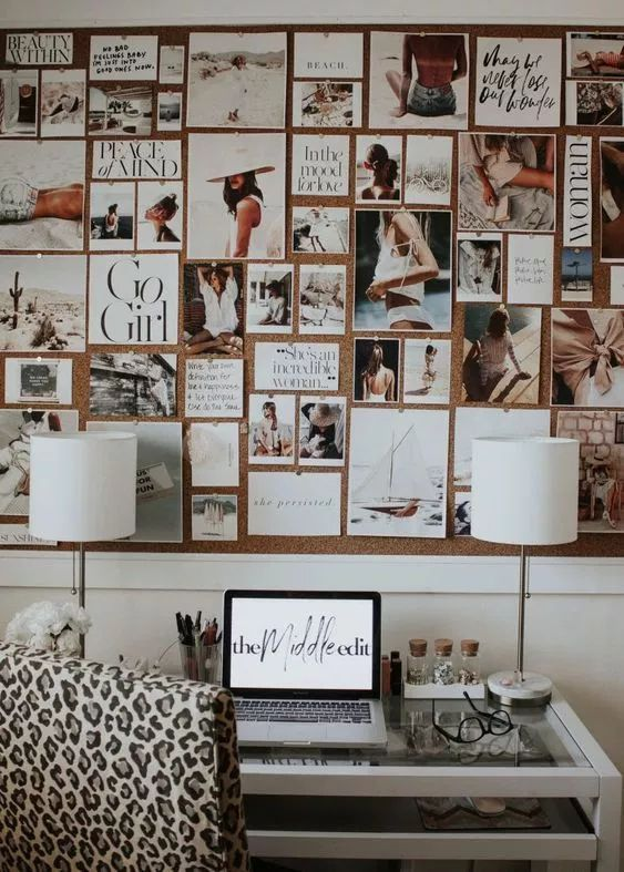 8 Worthwhile Things To Do While Staying Indoors - Making a vision board